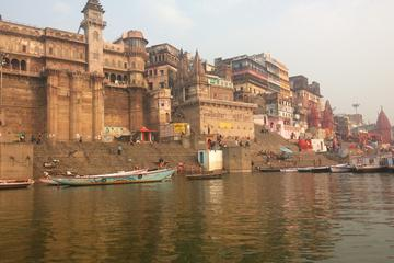 Evening Excursion: Ganga River Walking Tour with Dinner Overlooking...