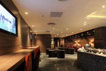 Plaza Premium Lounge do Aeroporto Internacional de Indira Gandhi...