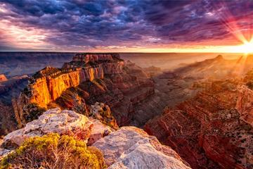 Grand Canyon South Rim Sunset Tour from Las Vegas