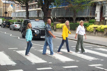 I rockelegendenes fotspor i London, minivantur med en liten gruppe