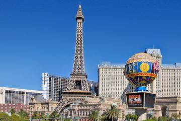 De Eiffeltoren in het Paris Las Vegas