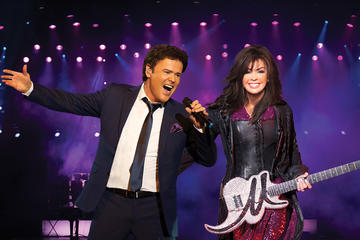 Donny and Marie en Flamingo Hotel and...