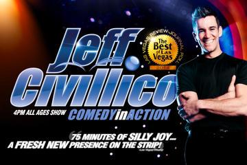 Jeff Civillico: Comedy in Action in het Flamingo Las Vegas Hotel