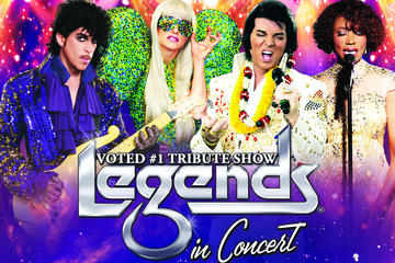 Legends in Concert al Flamingo Las Vegas Hotel and Casino