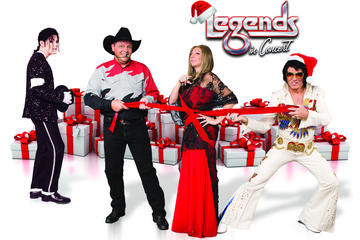 Legends in Concert in Flamingo Las Vegas Hotel and Casino