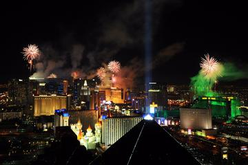 Las Vegas New Year's Eve on the High Roller at the LINQ