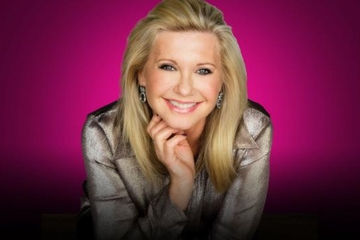Olivia Newton-John en el Flamingo Las Vegas Hotel and Casino