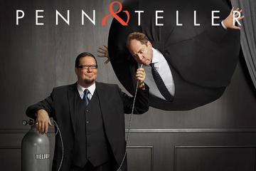 Penn en Teller in het Rio Suite Hotel ...