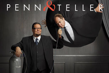 Penn y Teller en el Rio Suite Hotel and Casino