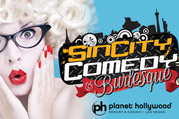 Sin City Comedy no Planet Hollywood Hotel e Casino