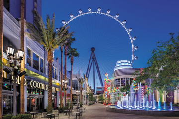 The High Roller in The LINQ