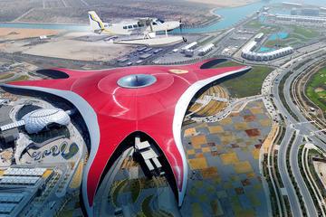 Voo de hidroavião para Abu Dhabi...