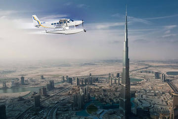 Wasserflugzeug von Abu Dhabi nach Dubai, mit Dubai Mall und Rückfahrt