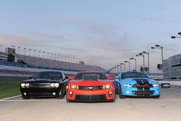 American Muscle Car Challenge en Las Vegas Motor Speedway