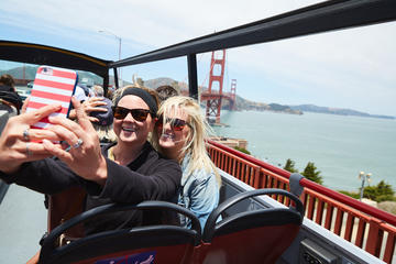 乗り降り自由のサンフランシスコ市内観光Big Busツアー