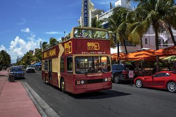 Big Bus Miami hoppa på-hoppa av-rundtur