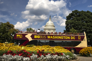 Circuit en « Big Bus » à arrêts multiples à Washington DC