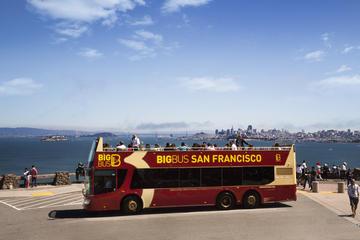 Combo de passeio panorâmico em San Francisco e Alcatraz de Big Bus