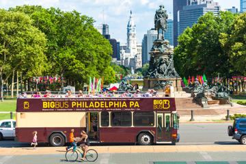 Excursão em ônibus panorâmico na Filadélfia