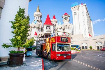 Las Vegas Hop-on-Hop-off-Tour im großen Bus