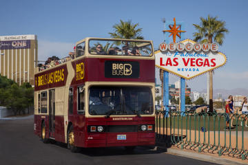 Tour hop-on/hop-off di Las Vegas in autobus Big Bus