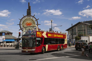 Tour hop-on/hop-off di San Francisco in autobus Big Bus