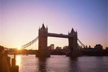 Fietstour door London in de avond