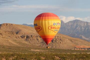 Fahrt im Heißluftballon in Las Vegas