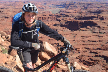 Day Trip Guided Full-Day Mountain Bike Tour in Moab near Moab, Utah