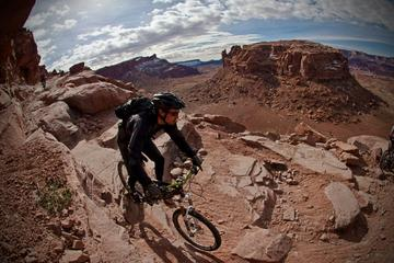 Day Trip Guided Half-Day Mountain Bike Tour in Moab near Moab, Utah
