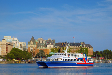 Fähre von Seattle nach Victoria: Einfach- und Rundfahrttickets