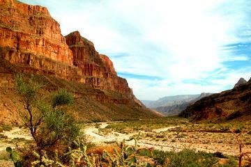 Base do Grand Canyon e aventura nas margens em um veículo 4x4