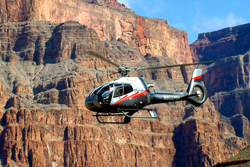 Tour 6 in 1 sul lato ovest del Grand Canyon con volo in elicottero e