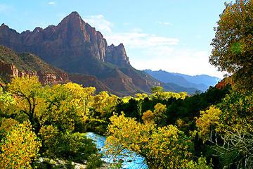 Tour de un día al Parque Nacional de Zion desde Las Vegas