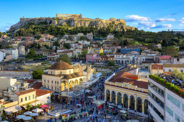 Athens City and Streets : No Museums
