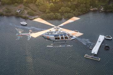 オアフ島サークル・アイランドのヘリコプターツアー