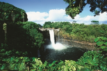 Hilo Landausflug: Volcanoes National Park und Rainbow Falls