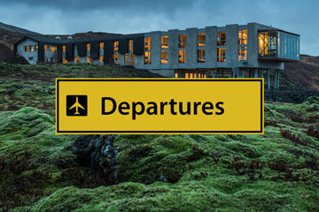 Luxury Private Transfers Ion Adventure Hotel to Keflavik airport
