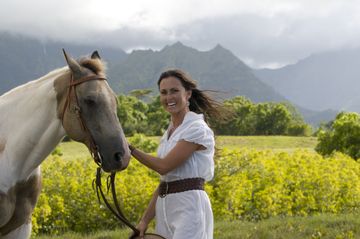 Balade à cheval au Kualoa Ranch à Oahu