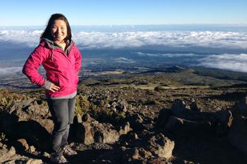 Excursion jusqu'au sommet du cratère Haleakala