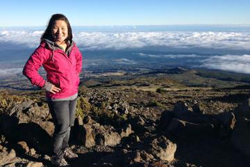 Trilha pela cratera do Haleakala