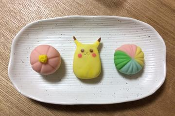 Japanese sweets making