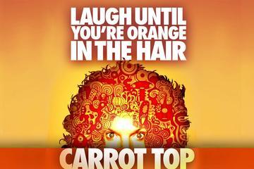 Carrot Top in het Luxor Hotel en Casino