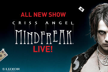 Criss Angel MINDFREAK® LIVE door Cirque du Soleil® in het Luxor Las ...