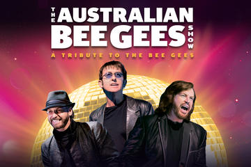 The Australian Bee Gees Show: A Tribute to the Bee Gees im Excalibur...