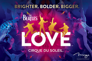 The Beatles™ LOVE™ door Cirque du Soleil® in het Mirage Hotel en ...
