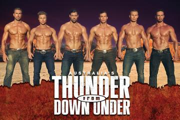 Thunder from Down Under im Excalibur...