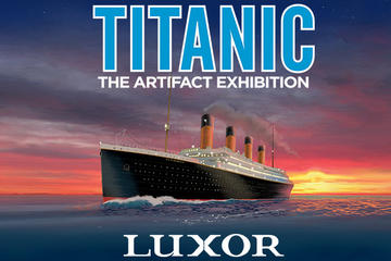 Titanic: The Artifact Exhibition en el Luxor Hotel and Casino