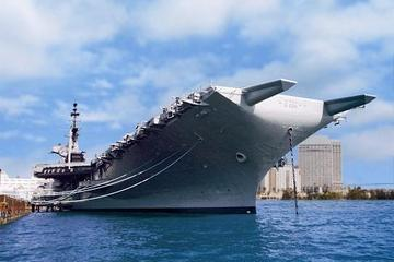 Saltafila: Museo della USS Midway