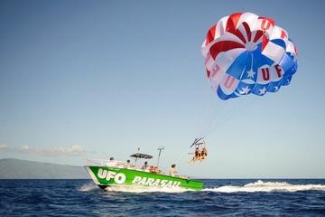 Experiência de parasailing na Big Island